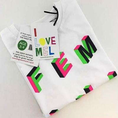 T-Shirt I LOVE MEL