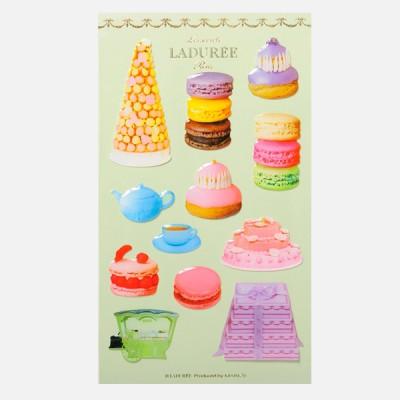 Stickers Macarons, Ladurée // Pistachio