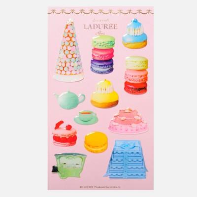 Stickers Macarons, Ladurée // Pink