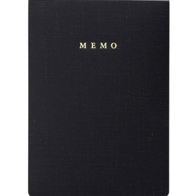 Handy memo pad, TRAVELIFE // Black