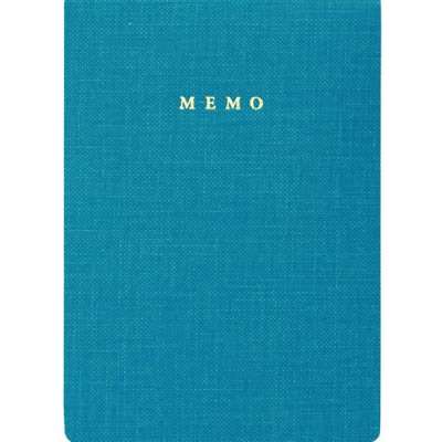 Handy memo pad, TRAVELIFE // Blue