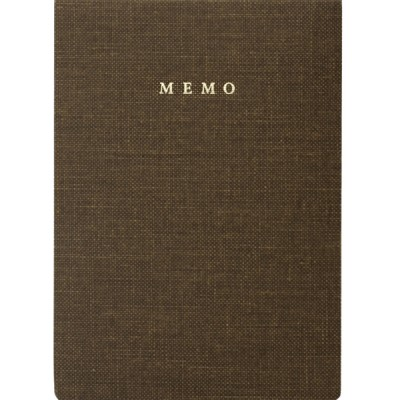 Handy memo pad, TRAVELIFE // Brown