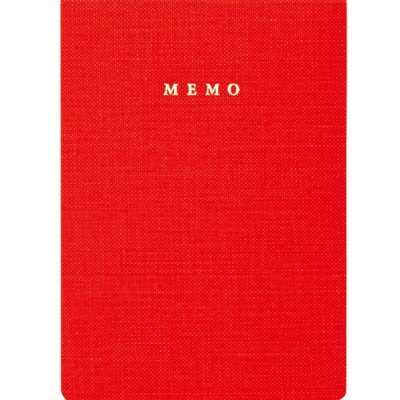 Handy memo pad, TRAVELIFE // Red
