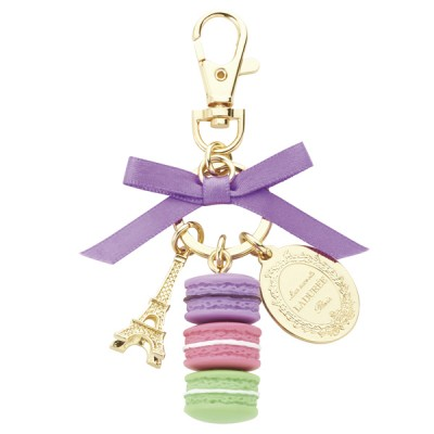 Keyring macarons S, Ladurée // Purple