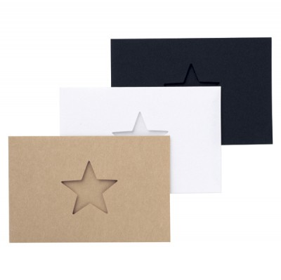 Mini card set // Star