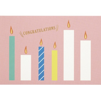 Gift card set // Candle