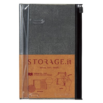 Notebook S, STORAGE.IT // Vintage Denim Black