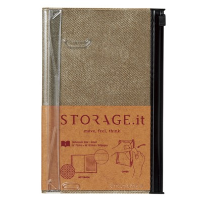 Notebook S, STORAGE.IT // Vintage Denim Beige