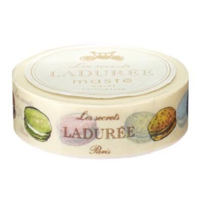 Masking Tape 15mm, Ladurée // Macarons