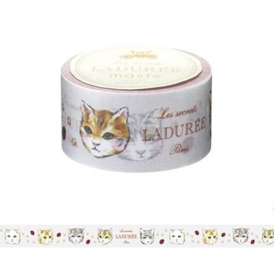 Masking Tape 25mm, Ladurée // Cats