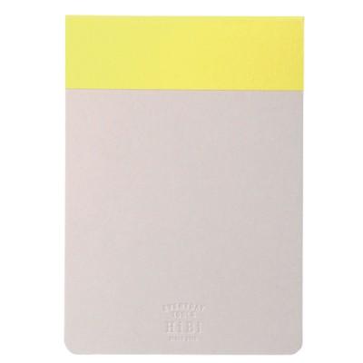 Memo pad HIBI  // Yellow
