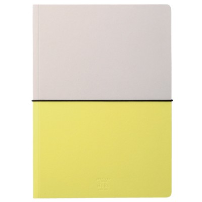 A5 Notebook, HIBI // Yellow