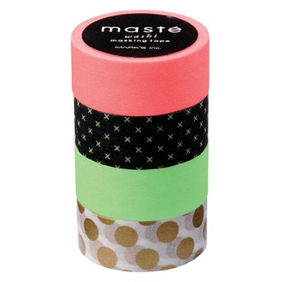 Masking Tape Mix D - Set of 4 Rolls