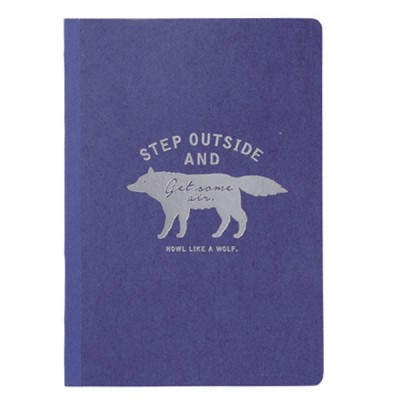 A5 Notebook Zakka Collection - Navy / Wolf