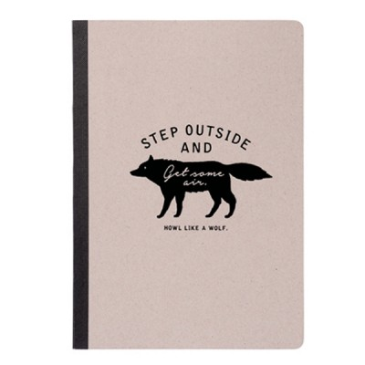 A5 Notebook Zakka Collection - Gray / Wolf