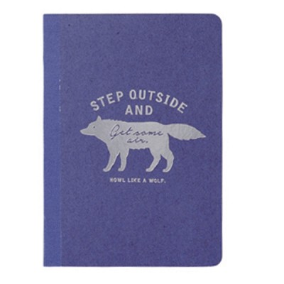 A6 Notebook Zakka Collection - Navy / Wolf