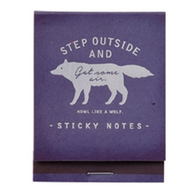 Sticky Notes Wolf Collection