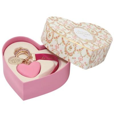 Bag Charm, Ladurée // Macaron Heart Raspberry