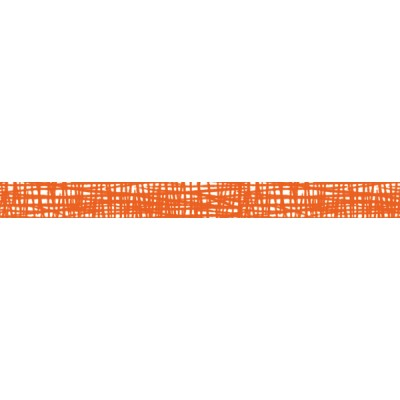 Orange-Brush stroke // Basic 1P - 7m