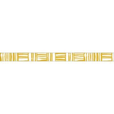 Mustard-Brush border// Basic 1P - 7m