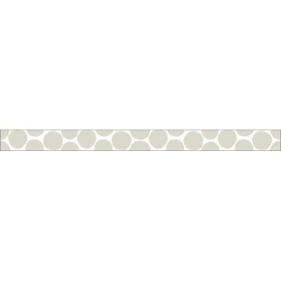 Warm grey-Coin dots// Basic 1P - 7m