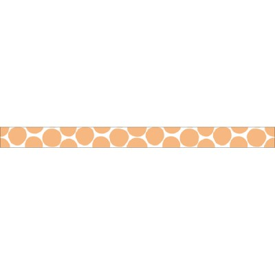 Light orange-Coin dots// Basic 1P - 7m