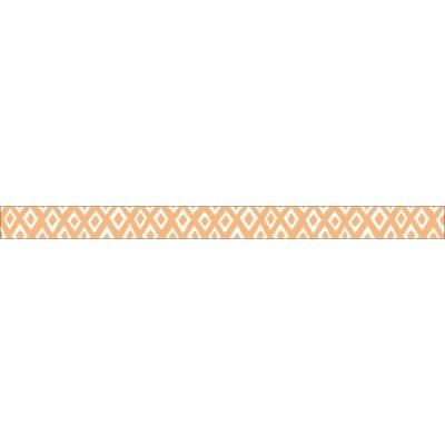 Light orange-Diamond polka// Basic 1P - 7m