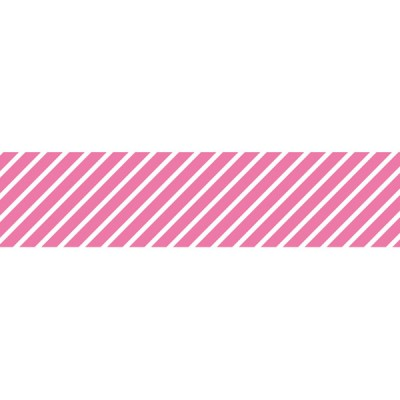 Neon Pink Stripes