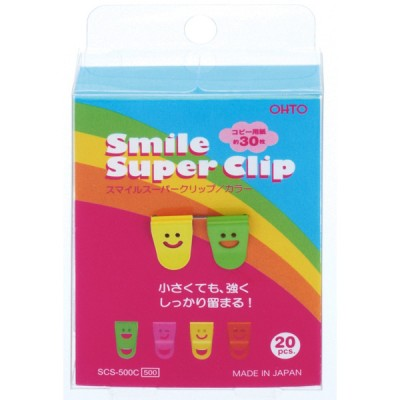 Smile Super Clip, Color