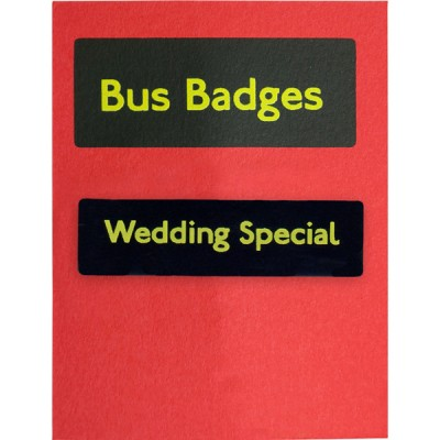 Bus Badges