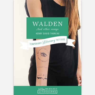 Temporary Literary Tattoos