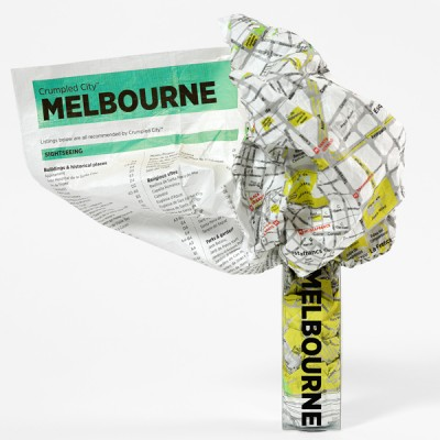 Crumpled City Maps