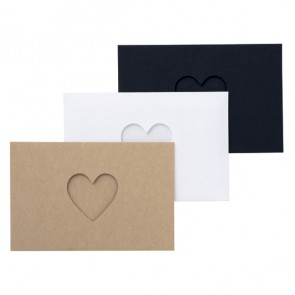 Mini card set // Heart Card