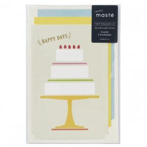 Gift card set // Cake