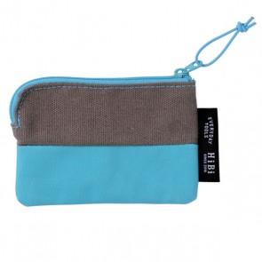 Card size Pouch HIBI // Blue
