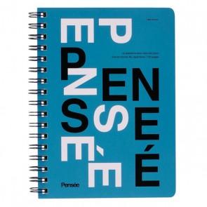 A6 Notebook, PENSÉE // Blue