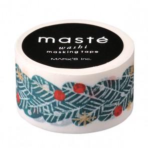 Masking tape// Xmas, Fir tree