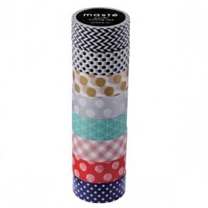Pattern mix 4 // masté 8 Rolls