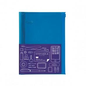 Notebook L, STORAGE.IT // Solid blue