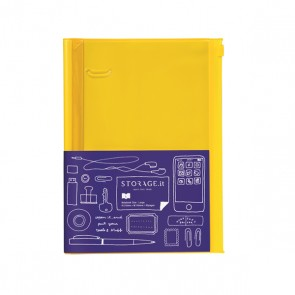 Notebook L, STORAGE.IT // Solid yellow