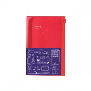 Notebook S, STORAGE.IT // Solid red