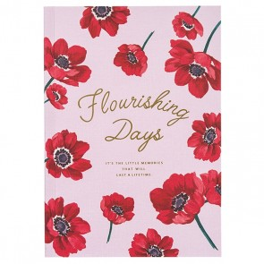 A5 Notebook Flower Zakka Collection