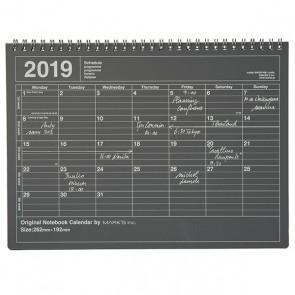 2019 Notebook Calendar
