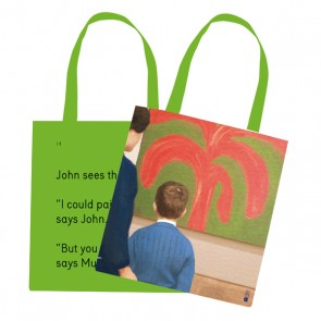 Tote Bag #4 John Sees The Painting