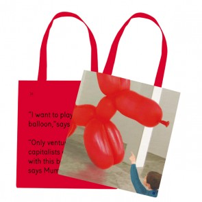 TOTE BAG #5 I WANT TO PLAY WITH THE BALLOON