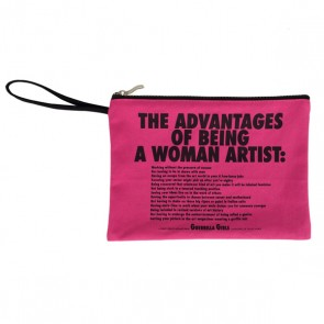Guerilla Advantages Of Being A Woman Clutch