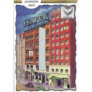 Birthday Sign Scratchie Card