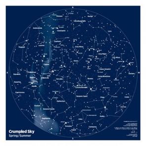 Crumpled Sky Maps