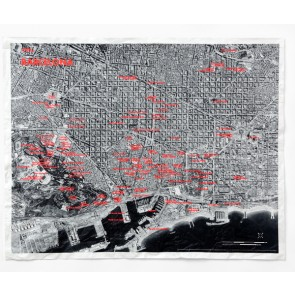 Crumpled City Maps from the Air